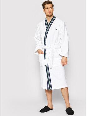 Lacoste Lacoste Robe de chambre Lclub Blanc