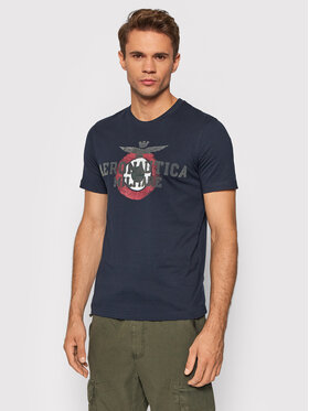 Aeronautica Militare Aeronautica Militare T-shirt 212TS1901J511 Blu scuro Regular Fit