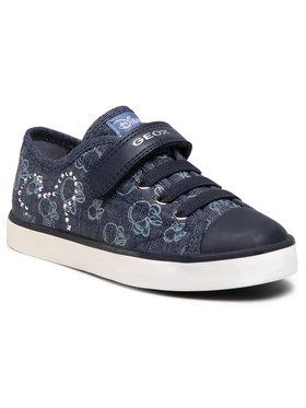 Geox Geox Sneakers aus Stoff J Ciak G. J J9204J 000SB C4005 S Dunkelblau