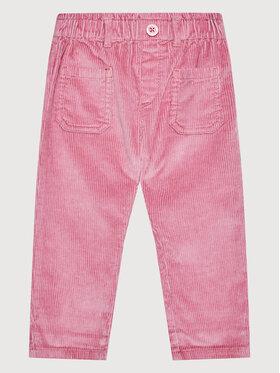 United Colors Of Benetton United Colors Of Benetton Текстилни панталони 4AQ555G50 Розов Regular Fit
