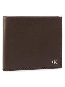 Calvin Klein Jeans Calvin Klein Jeans Zestaw upominkowy Bifold W/Coin + Cardcase K50K506252 Brązowy