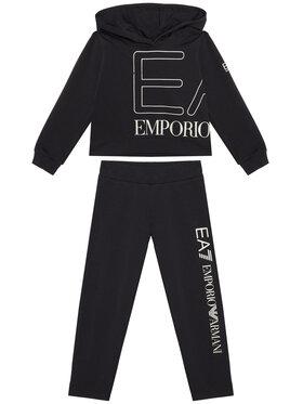 EA7 Emporio Armani EA7 Emporio Armani Sportinis kostiumas 3KFV52 FJ5FZ 1200 Juoda Regular Fit