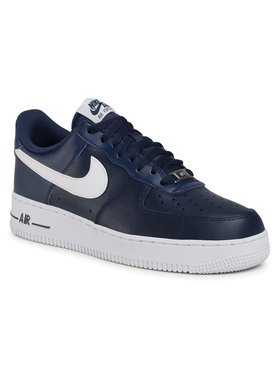 NIKE NIKE Buty Air Force 1 '07 An20 CJ0952 400 Granatowy