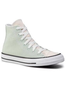 Converse Converse Tenisówki Ctas Hi Green Oxid 167644C Zielony