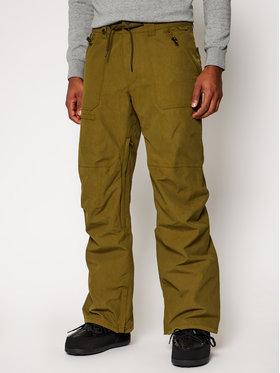 Quiksilver Quiksilver Lyžařské kalhoty Elmwood EQYTP03149 Zelená Modern Fit