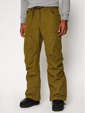 Quiksilver Quiksilver Παντελόνι σκι Elmwood EQYTP03149 Πράσινο Modern Fit