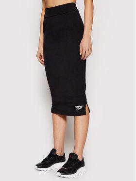 Reebok Reebok Fustă mini Classics Wardrobe Essentials GJ4884 Negru Slim Fit