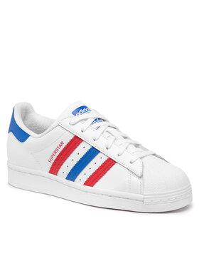 adidas adidas Topánky Superstar J FW5851 Biela