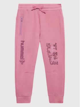 Hummel Hummel Teplákové nohavice SPACE JAM On 215874 Ružová Regular Fit