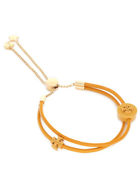 Tory Burch Tory Burch Bracelet Kira Powder Coated Bracelet 83505 Marron