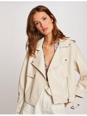 Morgan Morgan Куртка зі штучної шкіри 212-GOELA Бежевий Regular Fit