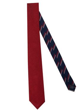 Tommy Hilfiger Tailored Tommy Hilfiger Tailored Krawatte Solid Ribbed TT0TT07682 Rot
