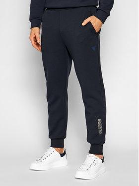 Guess Guess Pantalon jogging U1YA52 KA3P1 Bleu marine Regula rFit