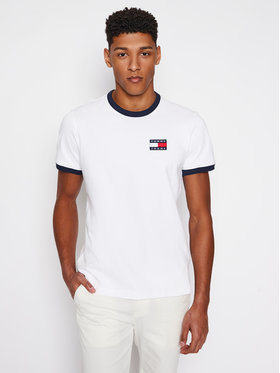 Tommy Jeans Tommy Jeans T-shirt DM0DM10280 Bianco Regular Fit