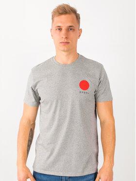 Edwin Edwin T-shirt Japanese Sun Ts I025020 TF10J94 DF67 Gris Regular Fit