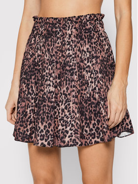Guess Guess Plesirana suknja Phoenix W1RD68 WDSS0 Smeđa Regular Fit