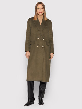 Selected Femme Selected Femme Gyapjú kabát Tama 16079494 Zöld Regular Fit