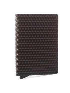 Secrid Secrid Malá pánská peněženka Slimwallet SCu Černá