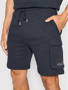 Ellesse Ellesse Short de sport Basta SHJ11947 Bleu marine Regular Fit