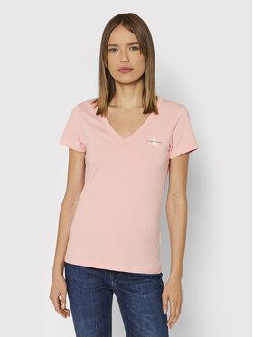 Calvin Klein Jeans Calvin Klein Jeans Футболка J20J217166 Рожевий Regular Fit