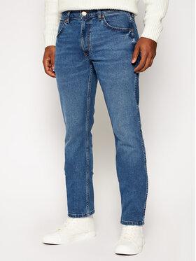 Wrangler Wrangler Jeansy Regular Fit Greensboro W15QU858F Niebieski Regular Fit