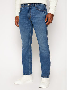 Wrangler Wrangler Τζιν Regular Fit Greensboro W15QU858F Μπλε Regular Fit