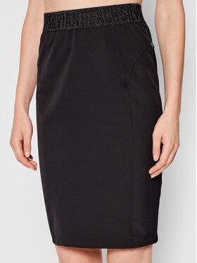 Silvian Heach Silvian Heach Mini sukně Niuva PGA21158GO Černá Slim Fit