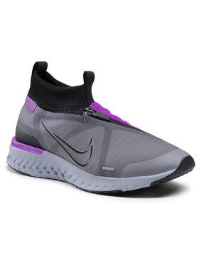 Nike Nike Boty React City AT8423 001 Šedá