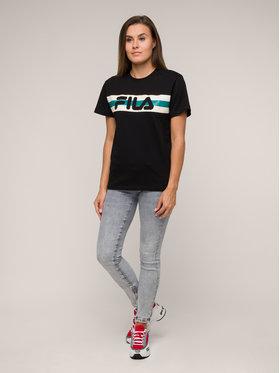 Fila Fila T-Shirt Azrielle Graphic 687222 Černá Regular Fit
