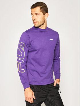 Fila Fila Тениска с дълъг ръкав Callum 687680 Виолетов Regular Fit