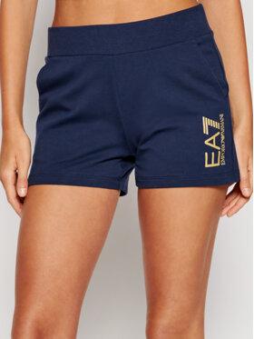 EA7 Emporio Armani EA7 Emporio Armani Pantaloncini sportivi 3KTS58 TJ31Z 1554 Blu scuro Regular Fit