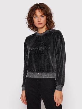 Calvin Klein Jeans Calvin Klein Jeans Bluza J20J216237 Czarny Boyfriend Fit