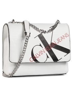 Calvin Klein Jeans Calvin Klein Jeans Torebka Square Flap Xbody K60K606852 Biały