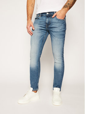 Guess Guess Skinny fit traperice Miami M0YAN1 D4322 Plava Skinny Fit