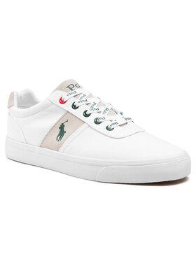 Polo Ralph Lauren Polo Ralph Lauren Sneakers aus Stoff Hanford 816829677001 Weiß