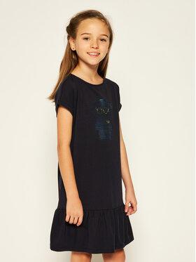 Emporio Armani Emporio Armani Kasdieninė suknelė 3H3A38 2JQAZ 0922 Tamsiai mėlyna Regular Fit