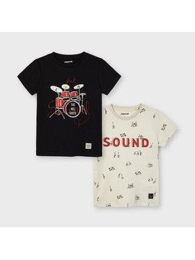 Mayoral Mayoral 2er-Set T-Shirts 3050 Bunt Regular Fit