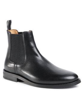 Gant Gant Členková obuv s elastickým prvkom Sharpville 21651036 Čierna