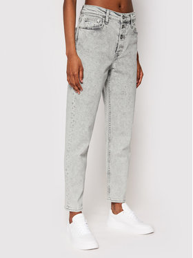 Calvin Klein Jeans Calvin Klein Jeans Τζιν J20J216297 Γκρι Mom Fit