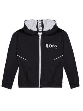 Boss Boss Felpa J25M09 S Nero Regular Fit