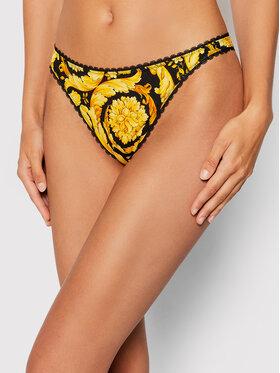 Versace Versace Бикини тип прашка Barocco 1000601 Жълт