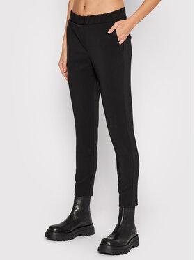 Imperial Imperial Текстилни панталони PSR8CCC Черен Regular Fit