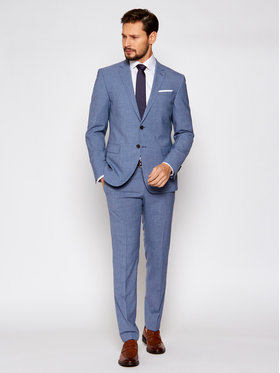 Joop! Joop! Oblek 17 Js-Herby-Blayr-Str 30026511 Modrá Slim Fit