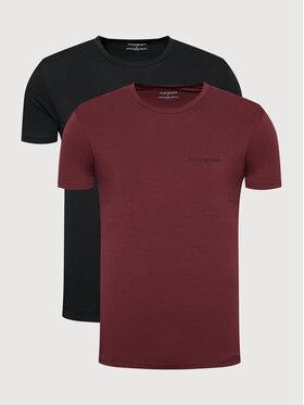 Emporio Armani Underwear Emporio Armani Underwear Комплект 2 тишъртки 111267 1A717 12976 Черен Regular Fit