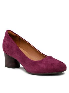 Clarks Clarks Обувки Un Cosmo Dress 261624014 Бордо
