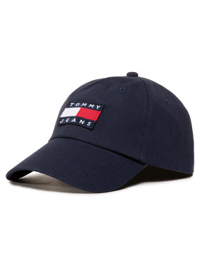 Tommy Jeans Šiltovka Tjm Heritage Cap AM0AM05953 Tmavomodrá