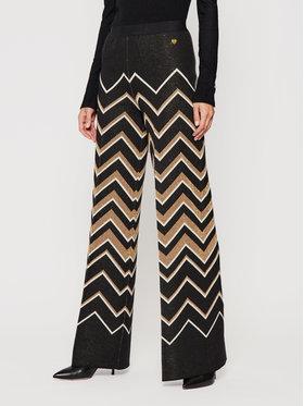 TWINSET TWINSET Текстилни панталони 202TT3063 Черен Regular Fit