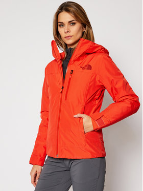 The North Face The North Face Скиорско яке Descendit NF0A4R1RR151 Червен Slim Fit