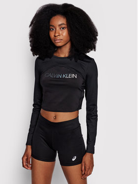 Calvin Klein Performance Calvin Klein Performance Μπλουζάκι 00GWT1K134 Μαύρο Regular Fit