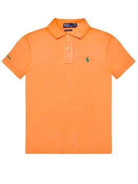 Polo Ralph Lauren Polo Ralph Lauren Polo marškinėliai The Earth 323780773011 Oranžinė Regular Fit
